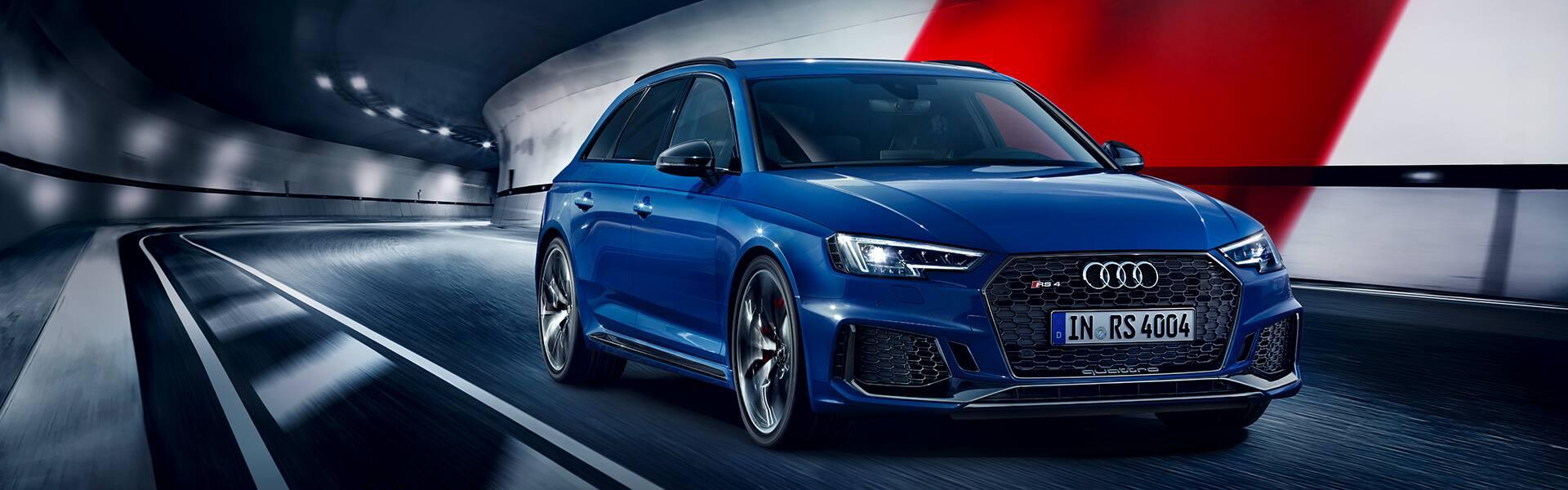 Der neue Audi RS 4 Avant verbindet Performance mit Alltagstauglichkeit.