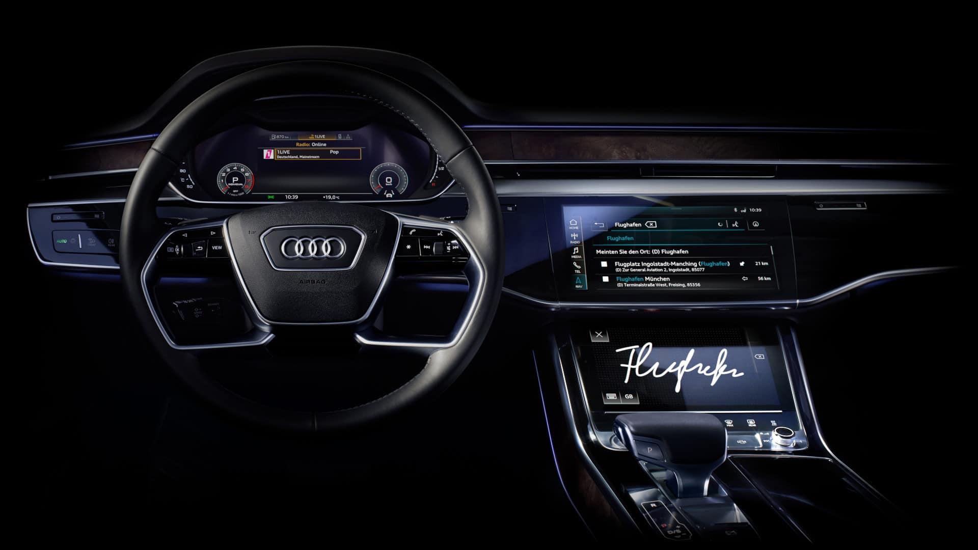 Wyszukiwanie celu Audi A8