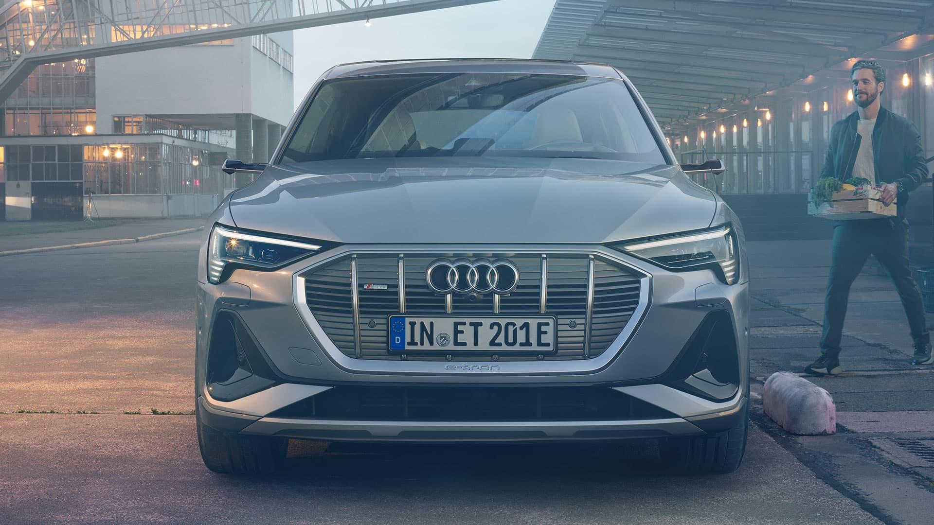Przód Audi e-tron Sportback