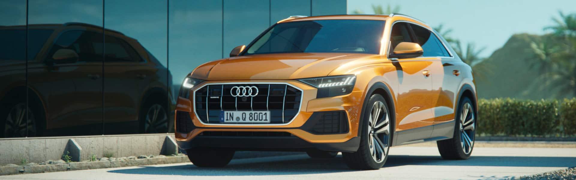 Nowe Audi Q8